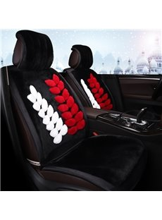 Ultimate Pure Wool High Quality Warm Comfortable Simple Style Seat Cover For Winter