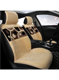 Winter Warm High Quality Skin-friendly Feel Comfort Car Drivers Seat Covers