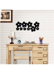 Small Flower Pattern 3D Acrylic TV And Sofa Background Wall Stickers