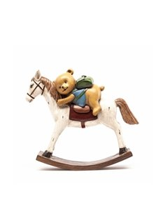 Bear Rocking Horse Decoration Living Room Study Office Children's Bedroom Arts