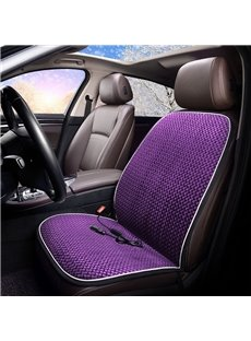 Heating Cushion Multicolor Suede Material Seat Mat