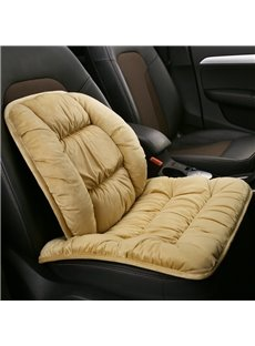 Luxury Thick Plain Single-seat Universal Car Seat Cover