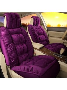 Luxury Comfortable Plain Single-seat Universal Car Seat Cover