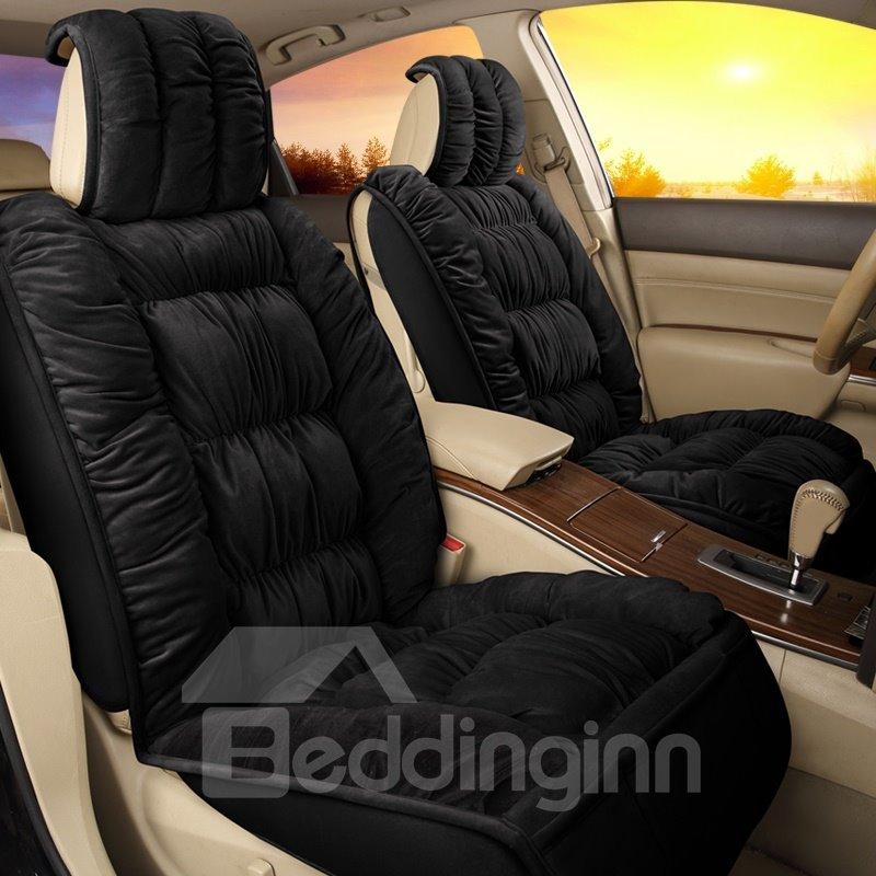 Luxury Comfortable Plain Single-seat Universal Car Seat Cover