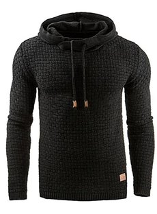 Pullover Cotton Slim Model Sports Style Thicken Hoodie