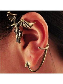 Dragon Wings Ear Clip Alloy Earring