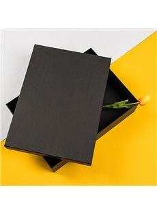 Slap-up Classic Oblong Black Hardboard Gift Box