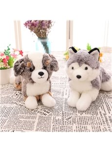 Cute Emulational Dogs Shape Soft and Breathable Plush Baby Toy