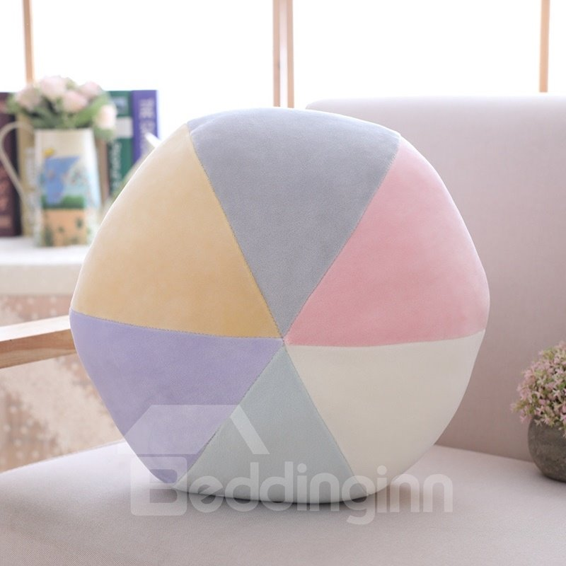 Triangle Mountain And Ball Shape Soft and Breathable Plush Baby Toy