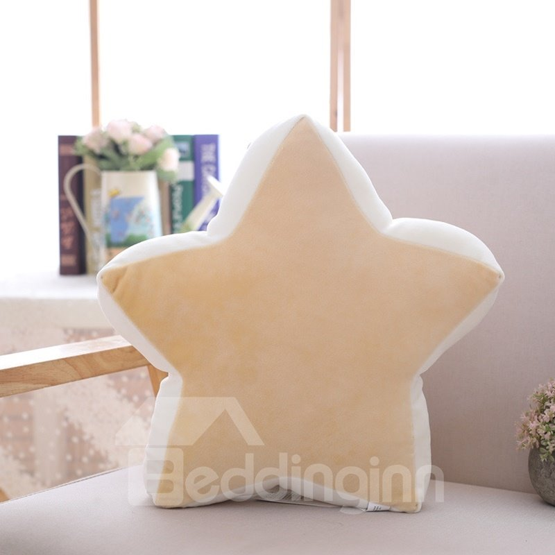 Moon And Star Shape Soft and Breathable Plush Baby Toy
