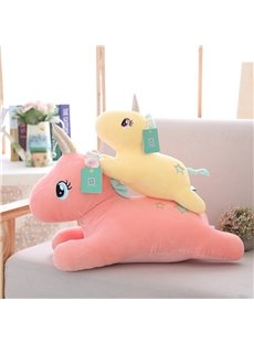 3 Color Cute Unicorn Soft and Breathable Plush Baby Toy