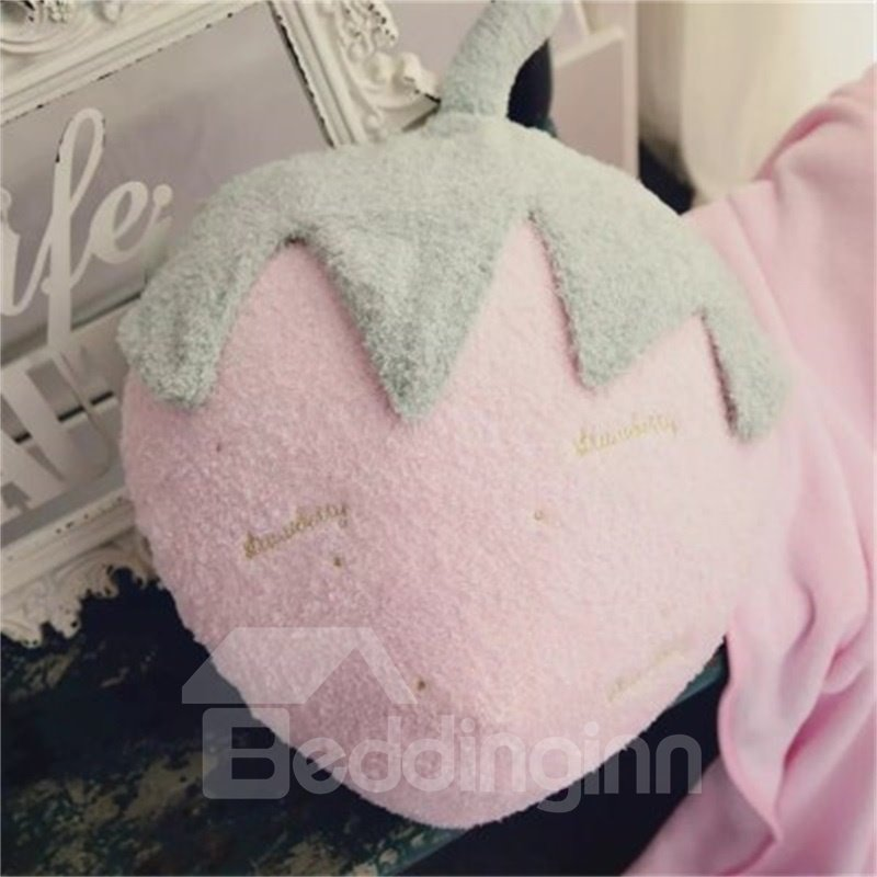 Cute Fruit Shape Soft and Breathable Plush Baby Throw Pillow And Blanket