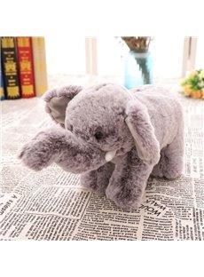 Cute Emulational Elephant Shape Soft and Breathable Plush Baby Toy