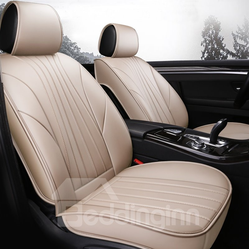 Textured High End Soft Plain Seat Cover All Seasons Pic