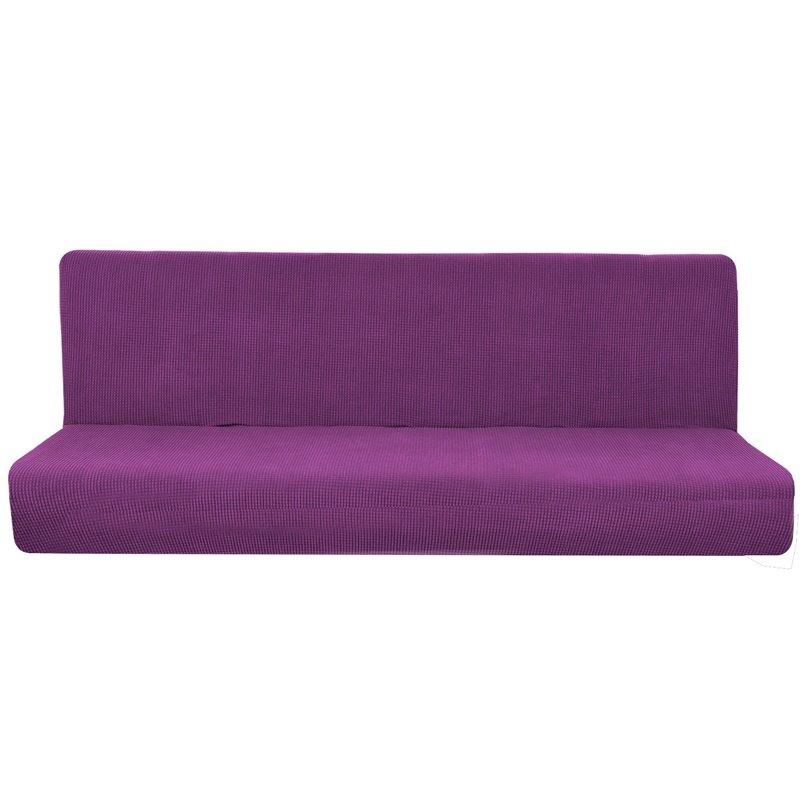 Polar Fleece Elastic Universal Pure Color Sofa Covers
