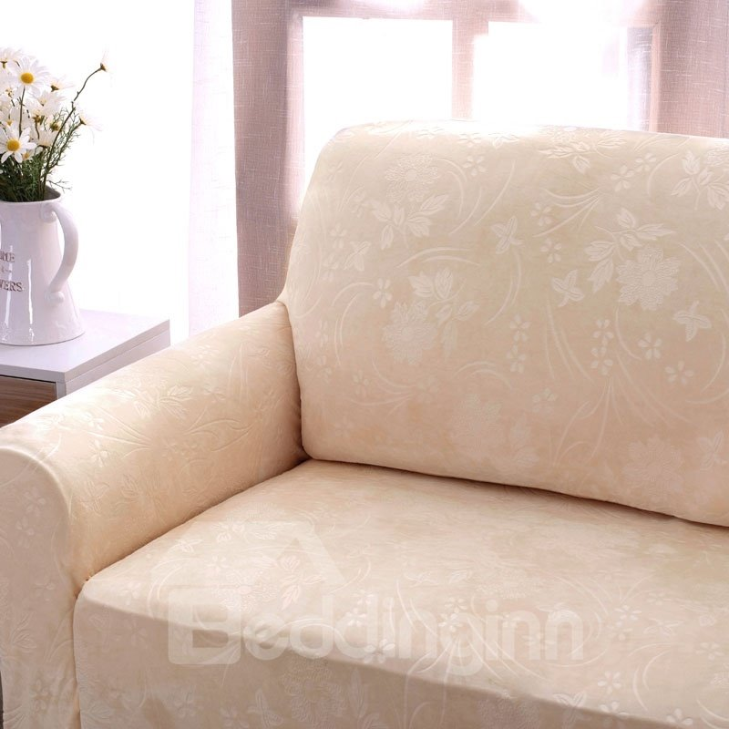 Polyester Floral Soft Dust Prevention Sofa Covers