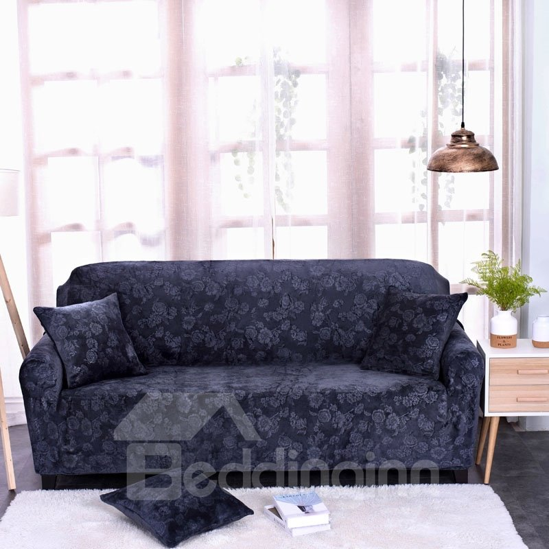 Floral Soft Polyester Anti-Slip Water Resistant Sofa Covers