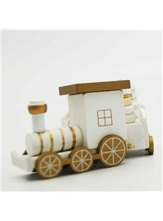 Original 3-color Toy Train Christmas Decoration