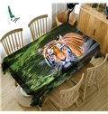 Home Use Waterproof Polyester European Style Oilproof 3D Tablecloth
