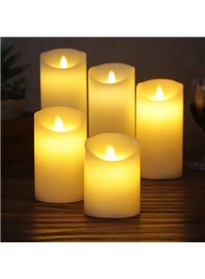 Flashing Battery Operated LED Candle Light Set with Remote Control