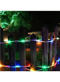 Solar-powered Waterproof Outdoor LED Decorative Rope Lights