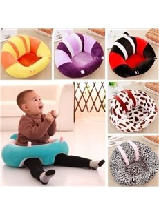 Cute Soft And Breathable Plush Baby Safety Seat Portable Dining Chair