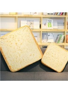 Cute Emulational Toast Shape Soft and Breathable Plush Baby Toy