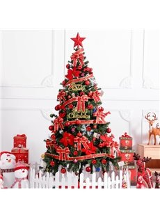 6 ft Christmas Tree Set with Controllable String Lights
