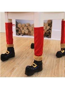 Good-quality Chair Leg Socks Christmas Decoration Set of 4