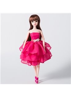 DIY Dressing Up Glitter Girls Lacy Doll 12in Fashion Doll