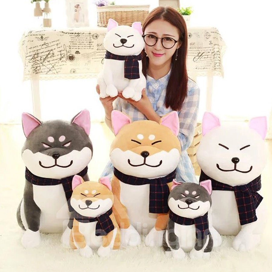Creative Cute Akita Soft and Breathable Plush Baby Toy