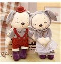 2 Color Cute Creative Rabbit Soft and Breathable Plush Baby Toy