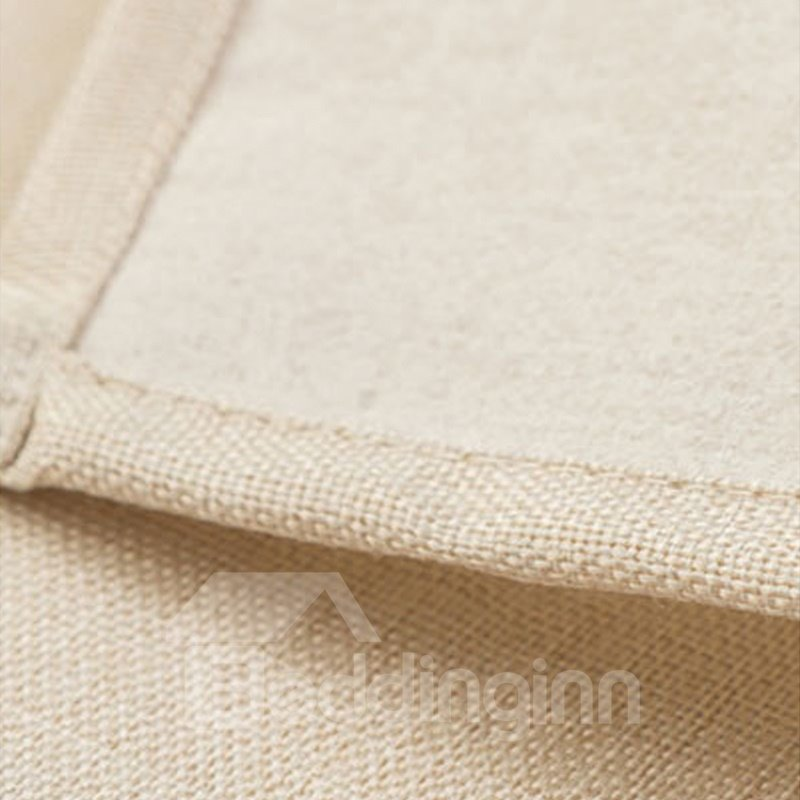 Personalized Cotton and Linen Oblong Placement