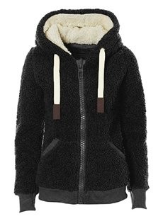 Wool Straight Model Hooded Plain Casual Style Jacket
