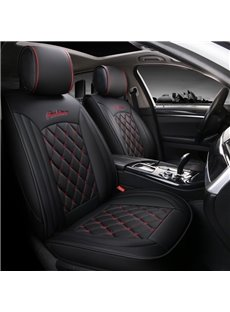 Sports Style Grid  Color Block Universal Fit Seat Covers