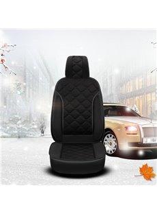 Winter Short Plush WarmUniversal Single Car Seat Cover