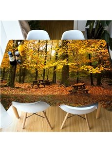 PartiesΠcnics European Style Vivid Color 3D Tablecloth