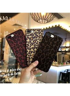 Feel Good Sexy Plush Leopard Phone Case