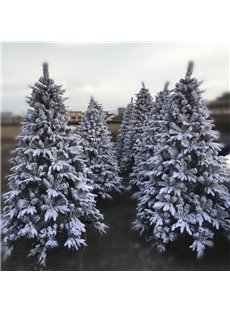 Pine Needles Thick Snow Multiple Size Christmas Tree