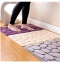 3D Stone Pattern Machine Made Polyester Area Rug
