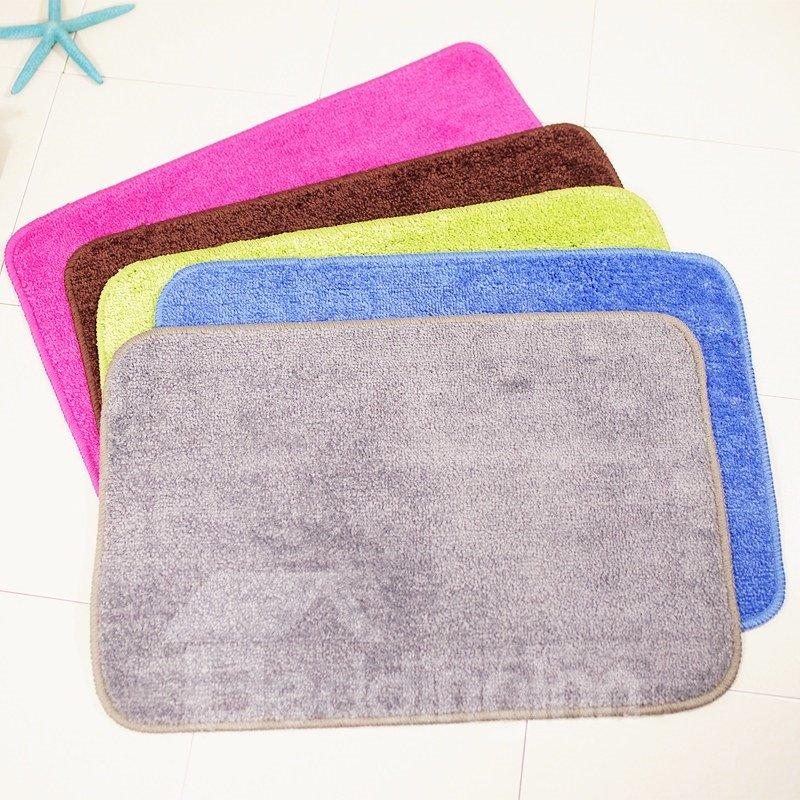 Plain Hand Wash Modern Style Machine Made Area Rug