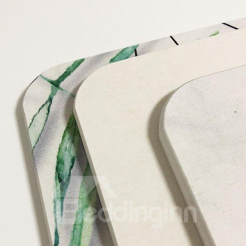 Japanese Style Hand Wash Rectangle Machine Made Area Rug