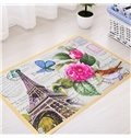 European Style Hand Wash Rectangle Area Rug