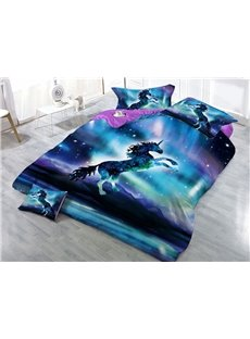Galaxy_Unicorn_Printed_3D_4Piece_Bedding_SetsDuvet_Covers
