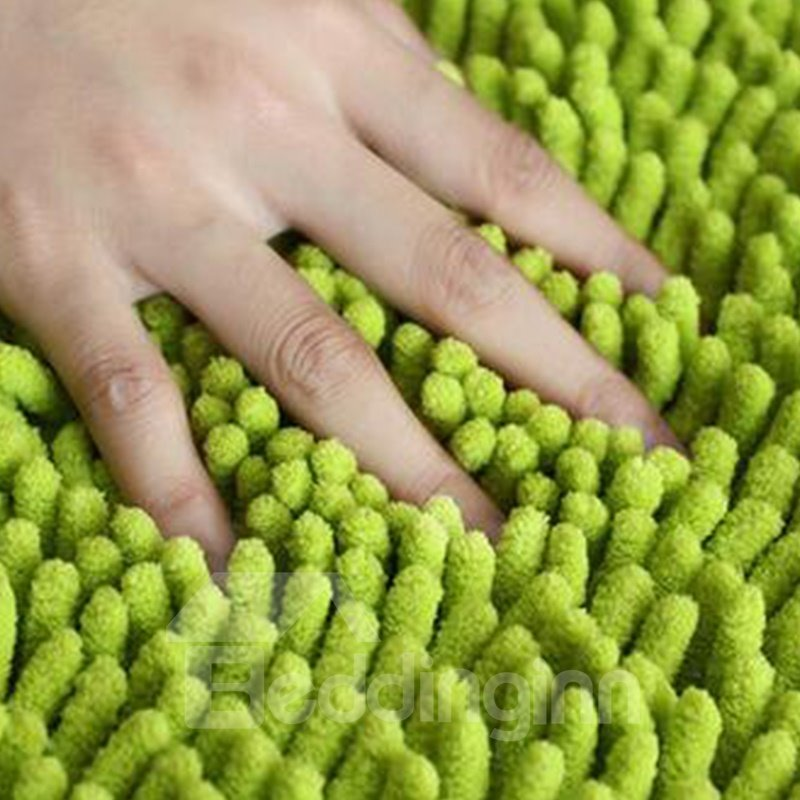 Chenille Modern Style Hand Wash Waterproof Area Rug