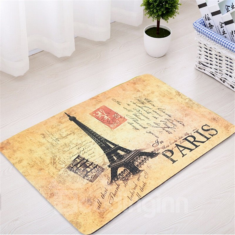 European Style Waterproof Polyester Home Use Area Rug