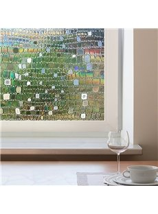 3D No Glue Static Decorative Privacy Window Films for Glass