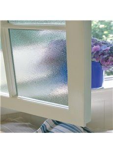 Static Window Films Decorative Privacy No Glue for Glass