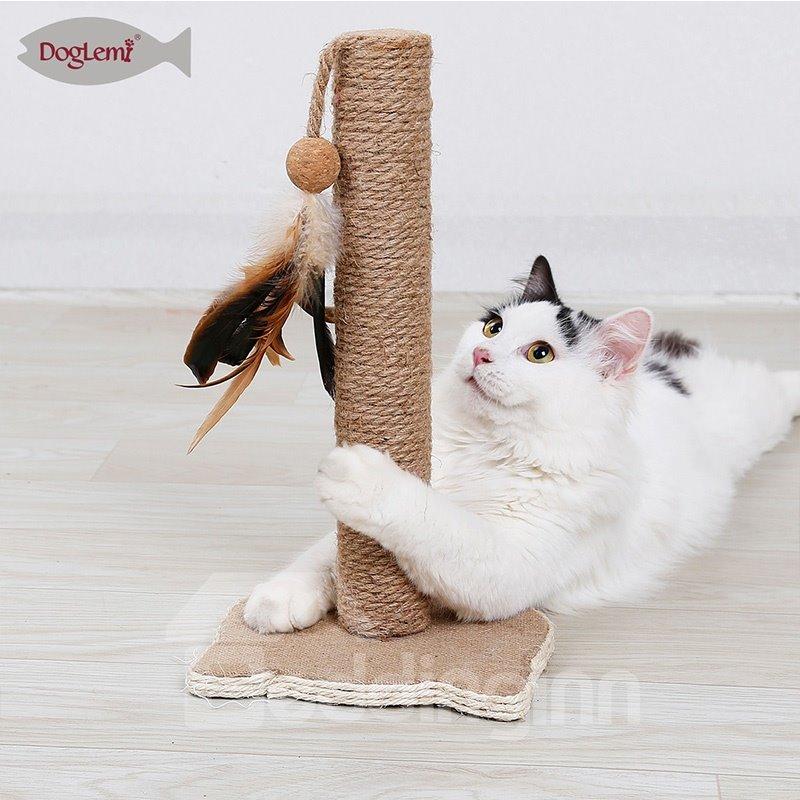Cat Grab Pillar Cat Furniture Yellow Sword Cat Grinding Toy