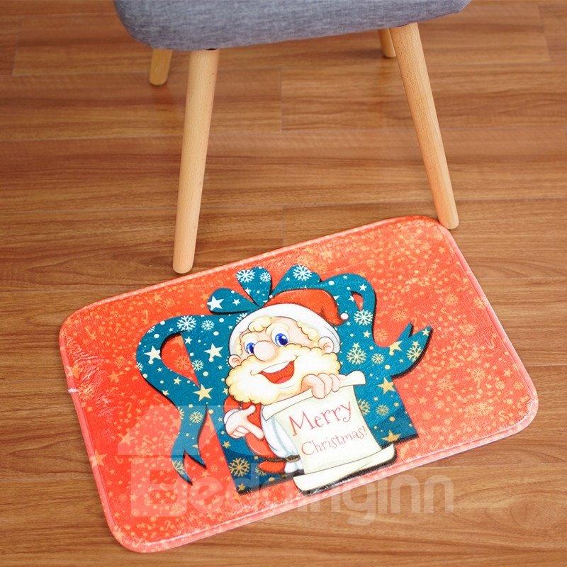 Rectangle Cartoon Style Waterproof Hand Wash Area Rug